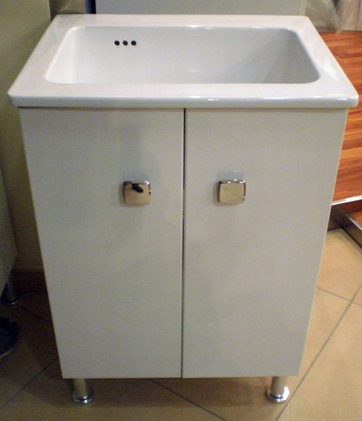 Lavabo in ceramica NANCO brevetto Sil