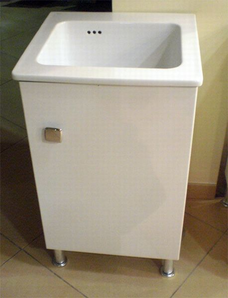 Lavabo NANCO in ceramica brevetto Sil