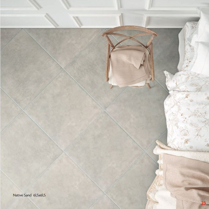 PAVIMENTO GRES PORCELLANATO 61,5x61,5 NATIVE SAND
